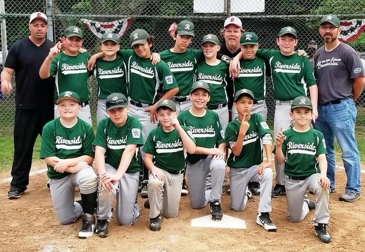 Riverside Little League Majors finished undefeated (19-0) for championship.