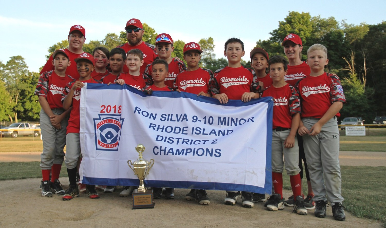 Riverside minors win title.  Photo by Tyler Saunders Maxwell.
