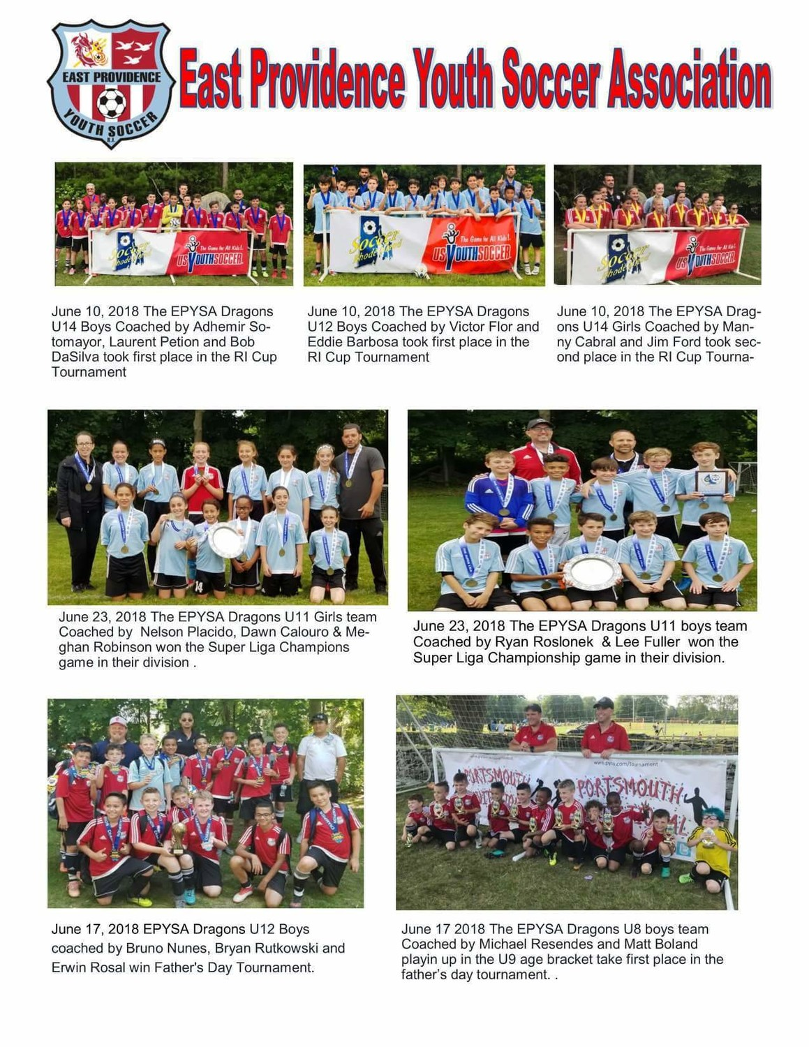 EP Youth Soccer Association