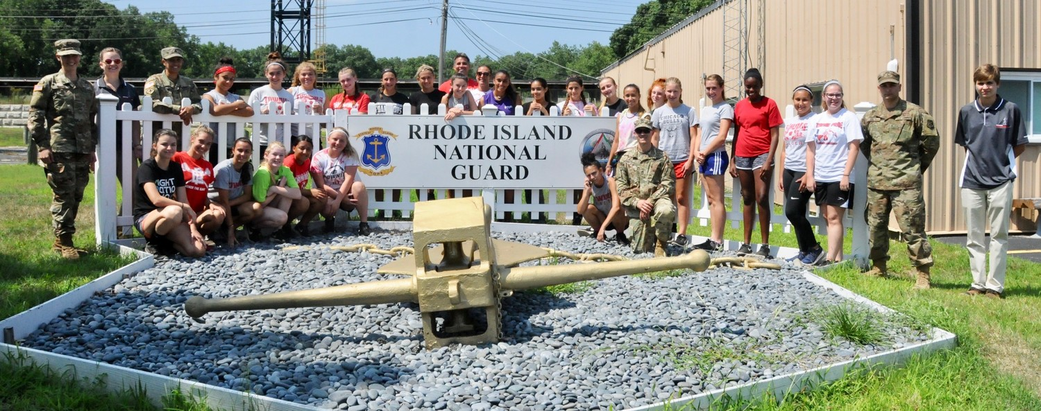 EPHS Girls Soccer Team Conquers RI National Guard Obstacle Course.  First school in Rhode Island to do so.