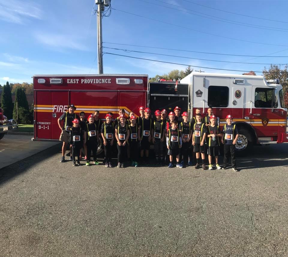 East Providence Firefighters 12th annual Freaky 5K Road Race