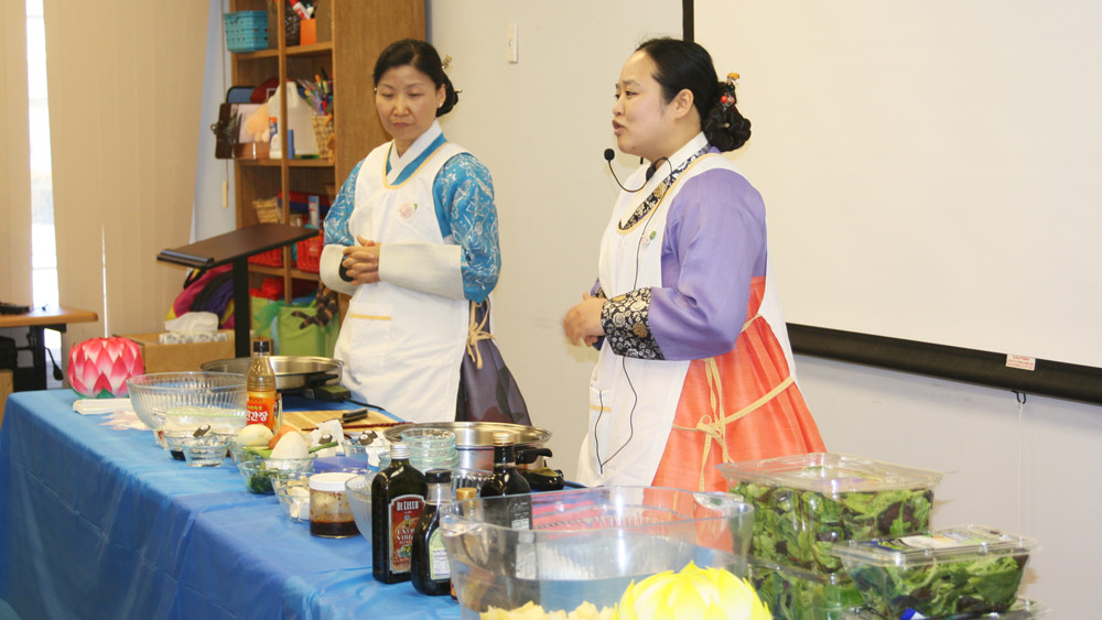 A Taste of Korea at the Weaver Library 