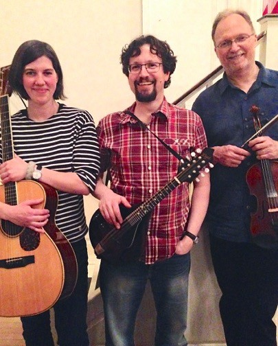 Stomp Rocket performs at the Rehoboth contra dance on Friday, October 12