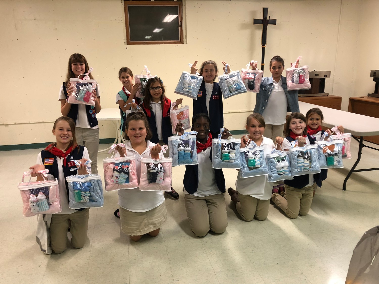 Troop MA3712 Explorers Complete Service Project