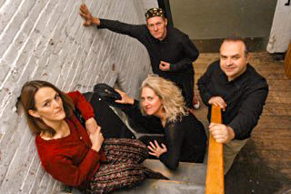 Wild Asparagus performs at the Rehoboth contra dance on Friday, November 30