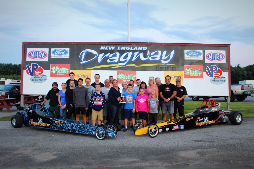AJ and Alicia Gouveia have wins at Wayside Warrior Racing