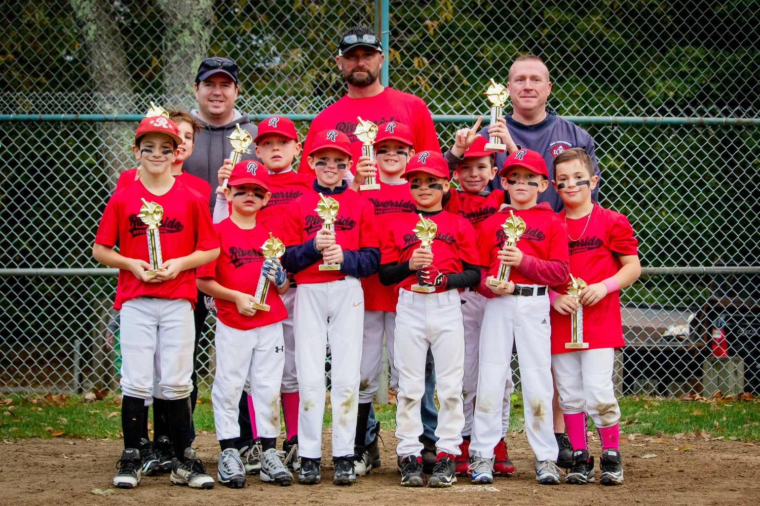 Riverside Little League Boys Minors Fall Ball Champions