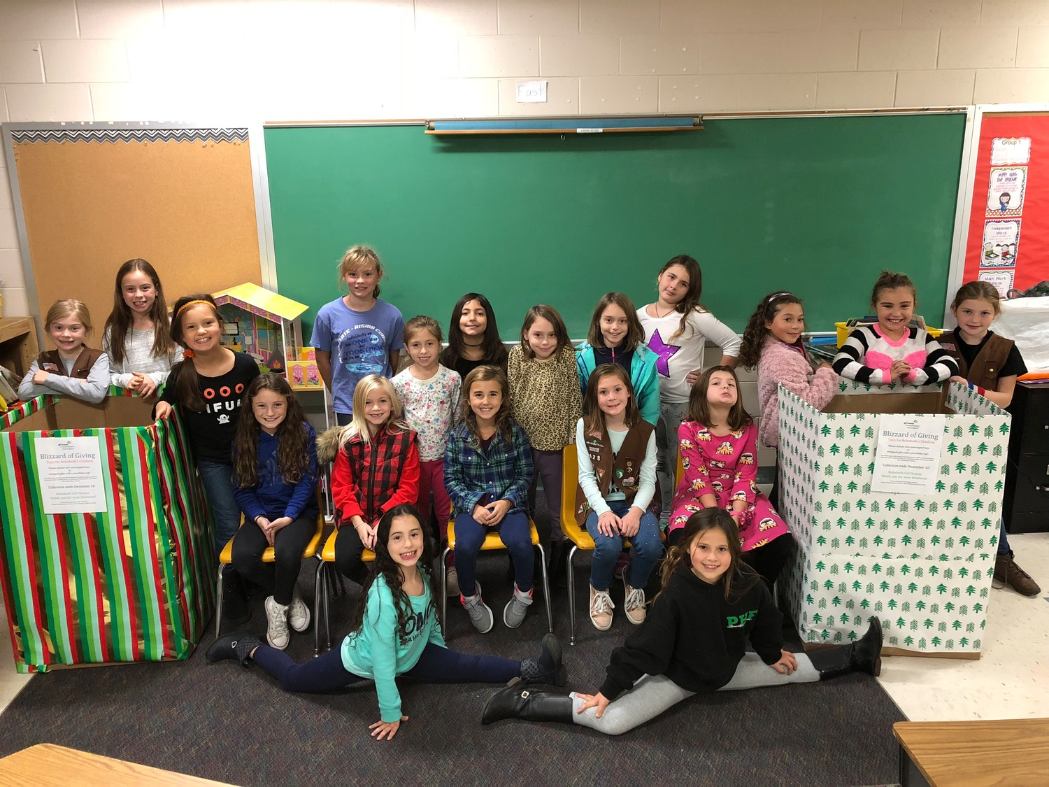 Rehoboth Girl Scout Troop 628 - Blizzard of Giving