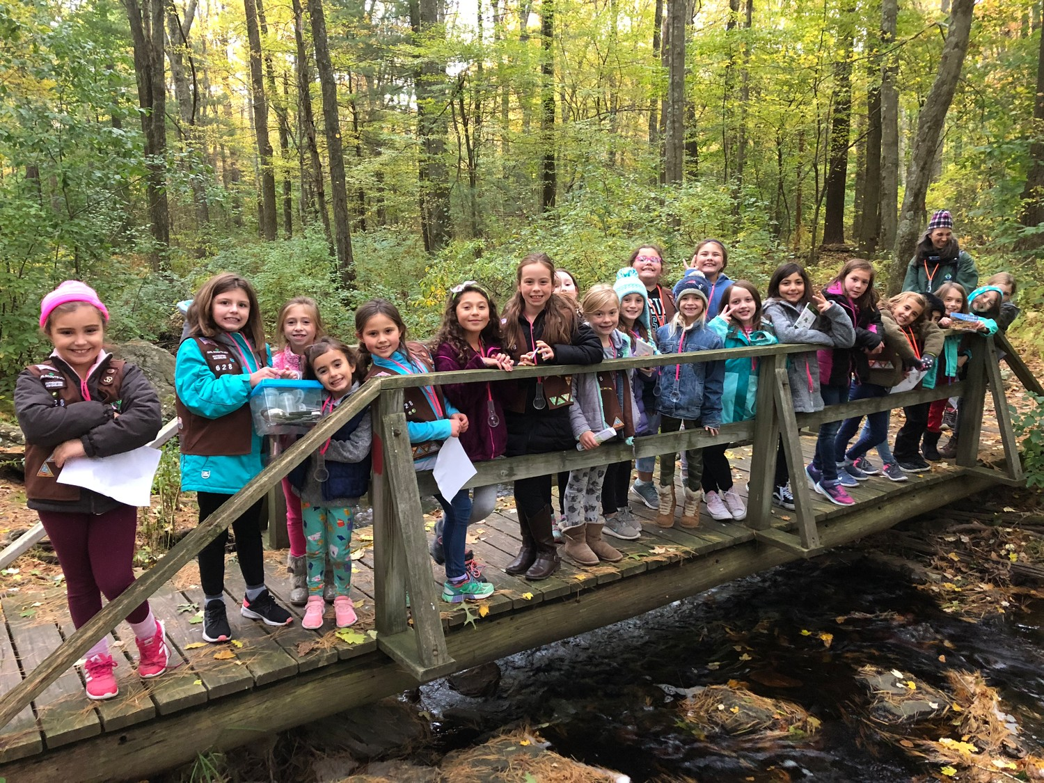 Rehoboth Girl Scout Troop 628 - Caratunk Wildlife Refuge