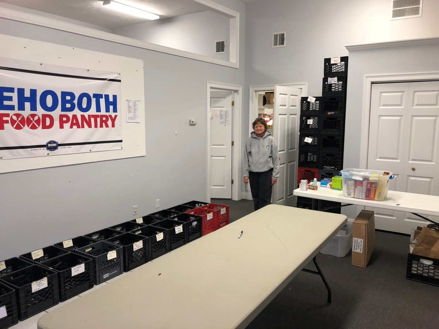 Rehoboth Food Pantry Is Moving Forward Under New Leadership
