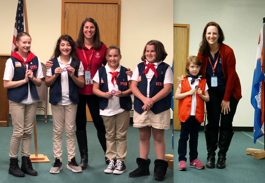 American Heritage Girls Troop MA3712 Joining Awards