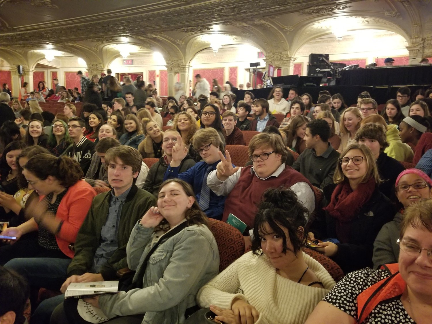 EPHS students at Boston Opera House for Alexander