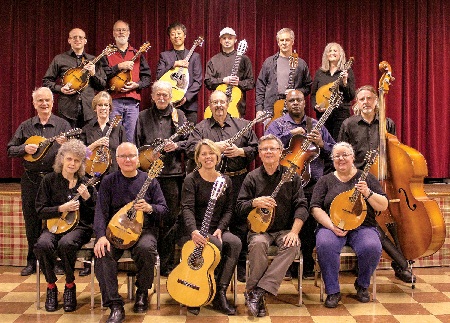 The Providence Mandolin Orchestra performs in the Arts in the Village Concert Series on Saturday, February 9