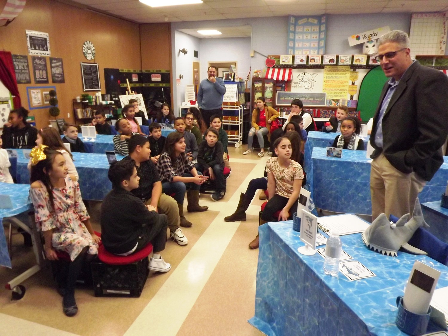 Whiteknact School Shark Tank program last month.