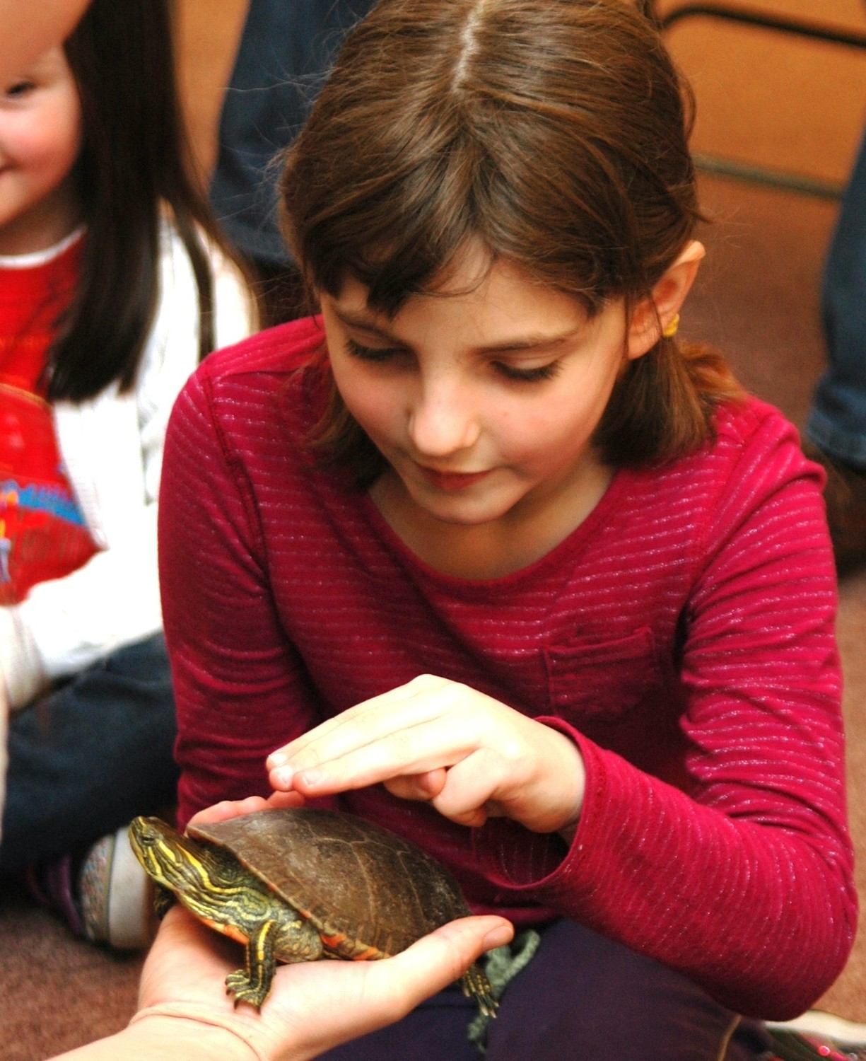 Bring the kids to meet some cool critters at Audubon during school vacation week!