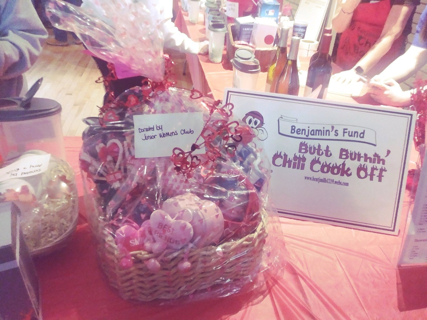 The GFWC Taunton and Raynham Junior Woman's Club is lending support to other organizations by donating gift baskets to raffle off for their specific causes.