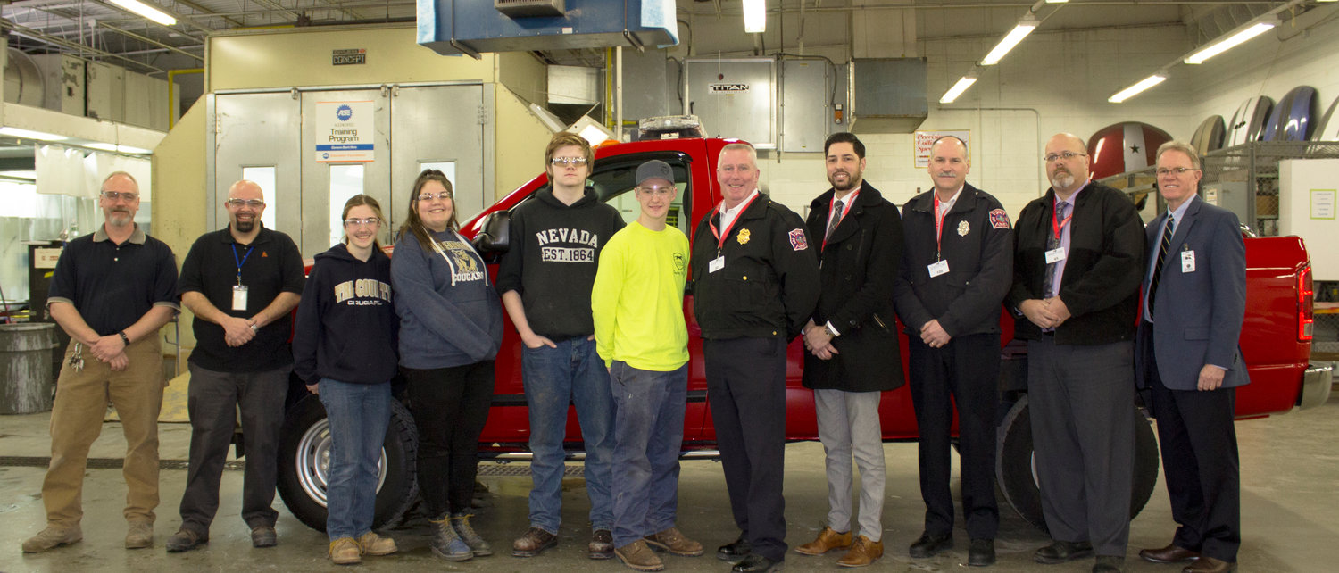 Town of Seekonk Fire Department Receives Fully Restored Fire Truck from Tri-County RVTHS Students