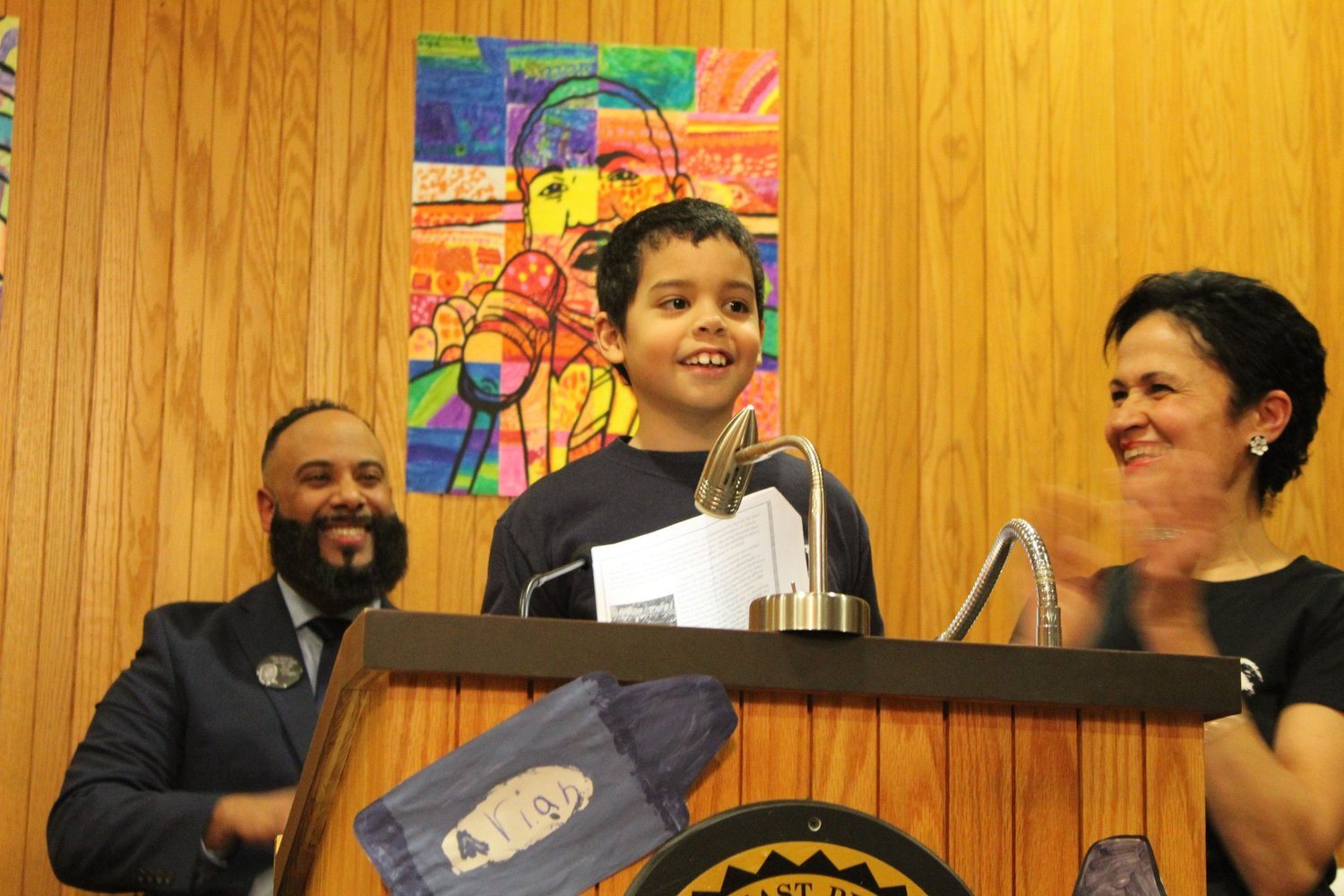 MLK Commemorative event last month at EP City Hall