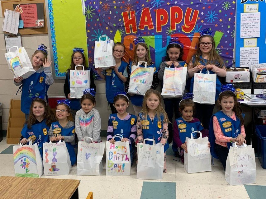 Rehoboth Girl Scout Troop 694 celebrate Girl Scout Birthday