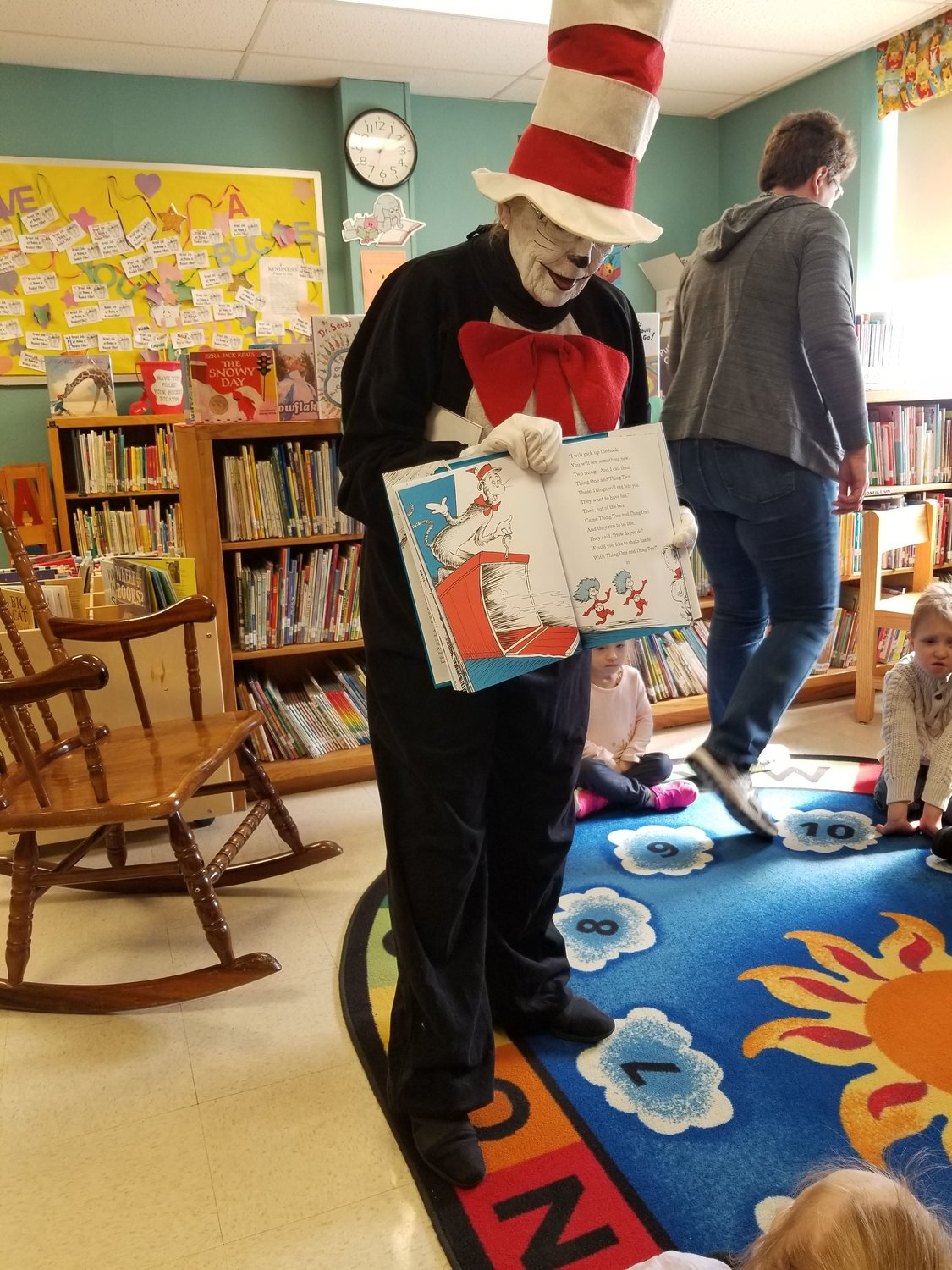 Cat in the  Hat at Leddy  School