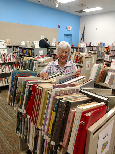 Books, books and more books will be on sale at reasonable prices at the Spring Book Sale at Weaver Library April 25-28. (Shirley Sears)