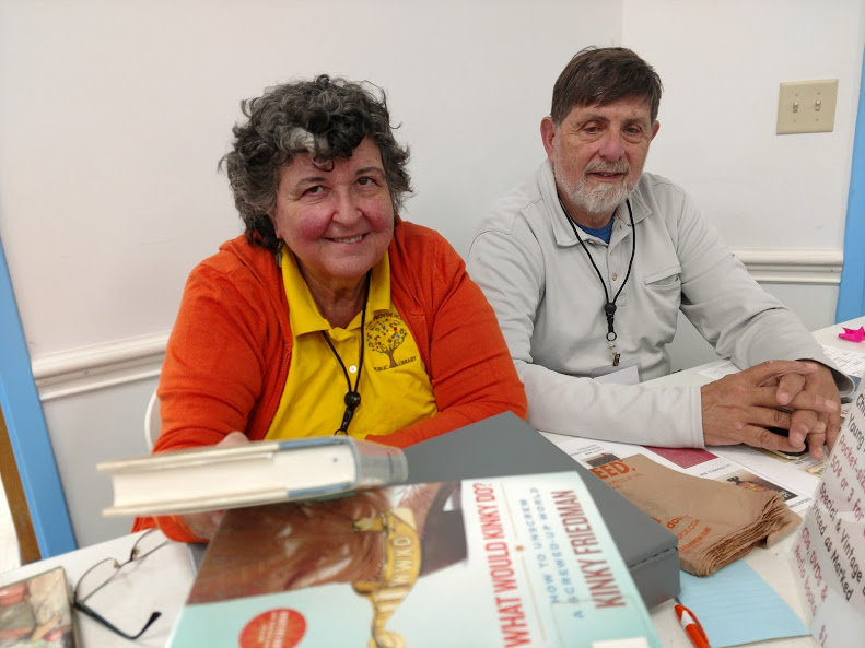 Friends of the East Providence Public Library will sponsor a Spring Book Sale from April 25-28 at Weaver Library. (Vivian & Dan Weisman)