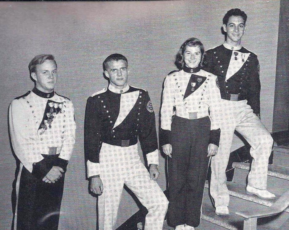 1960 EPHS band officers