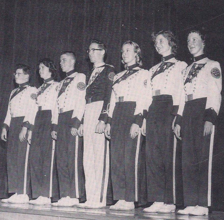 Some of the 1961 Band