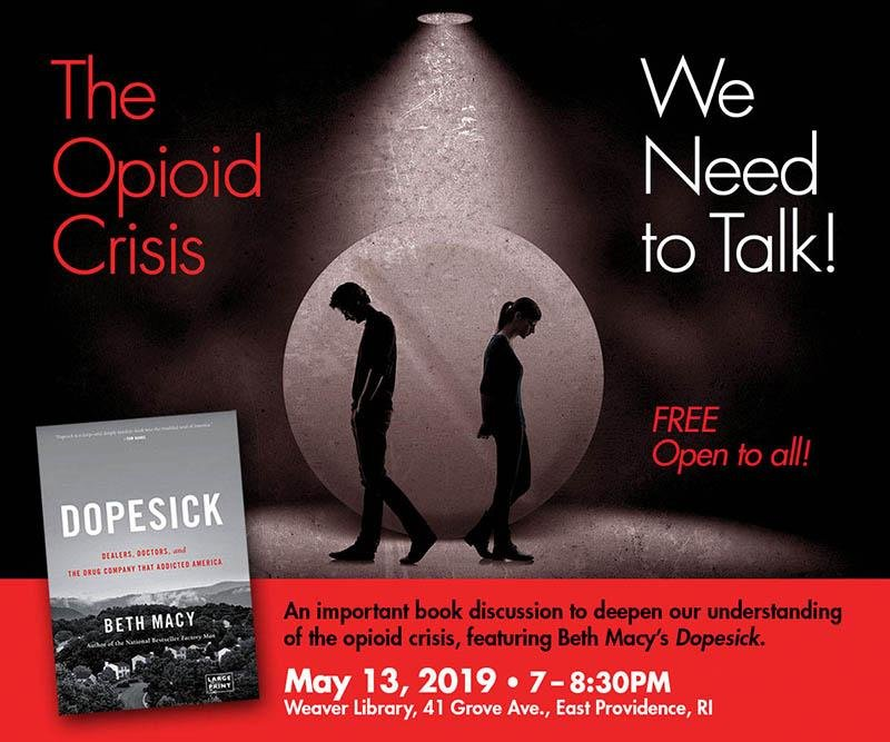 The Opioid Crisis: We Need to Talk!  Register for a free book!
