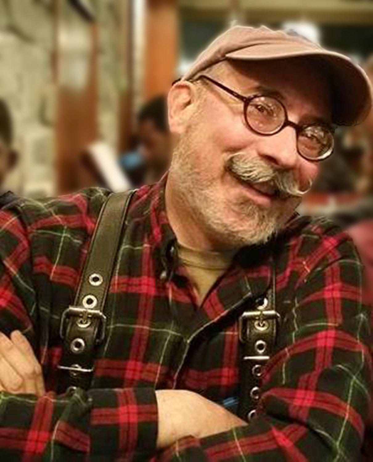 Chris RIcciotti calls the Rehoboth contra dance on Friday, May 31