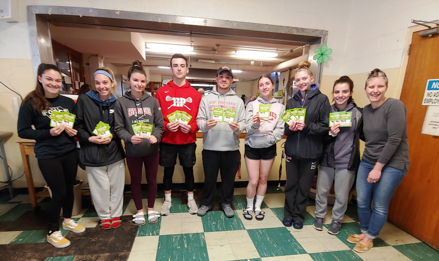 EPHS LAX Squads Make Food Donations to Community