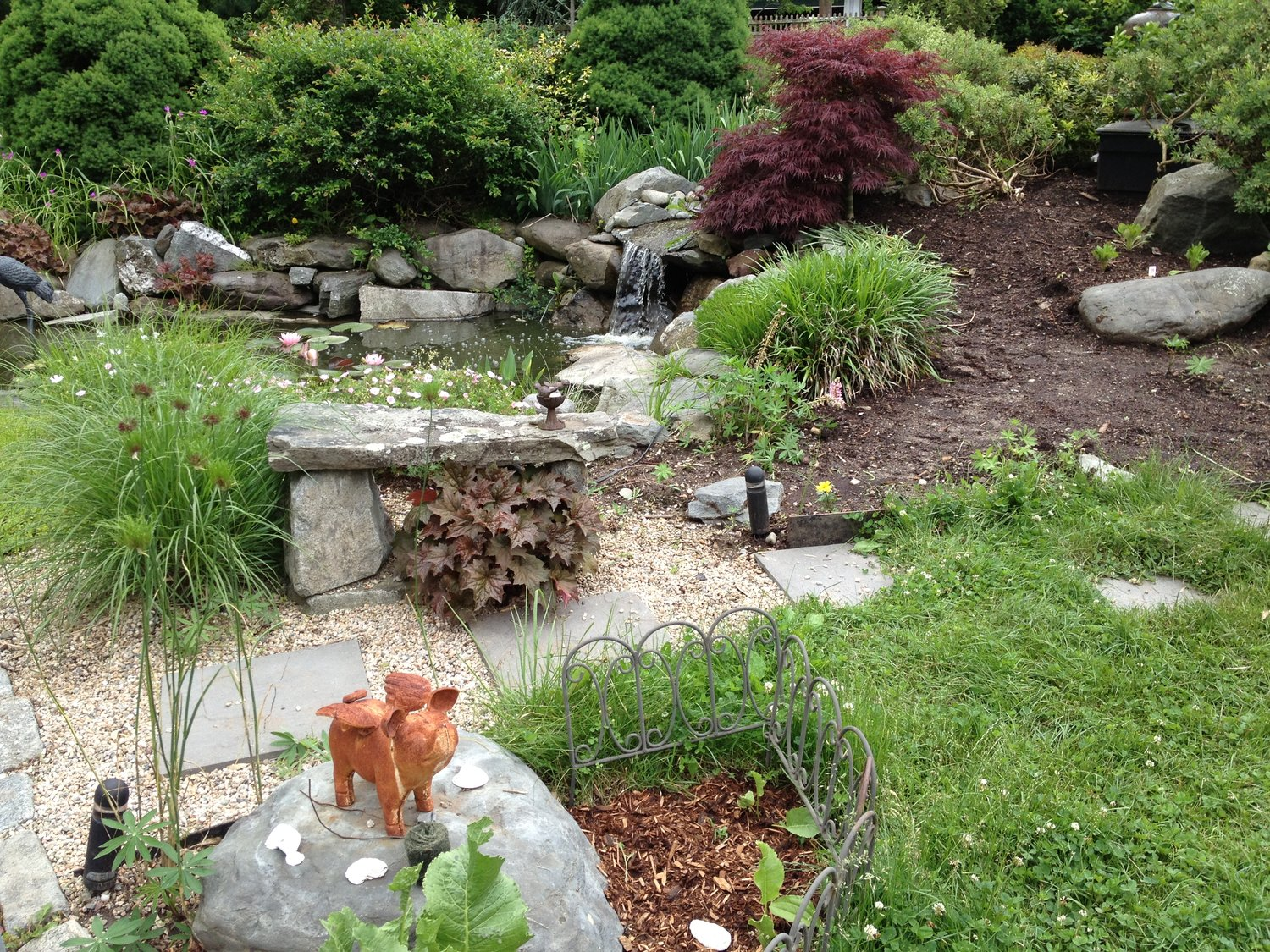 Gardens located at 89 Reed Street, Seekonk, also featured in Seekonk are the gardens at 37 Jane Howland Drive.