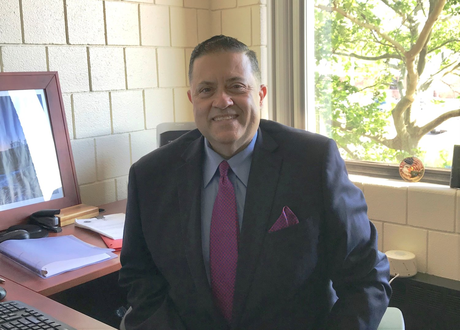 Victor C. Santos, new East Providence HR Director