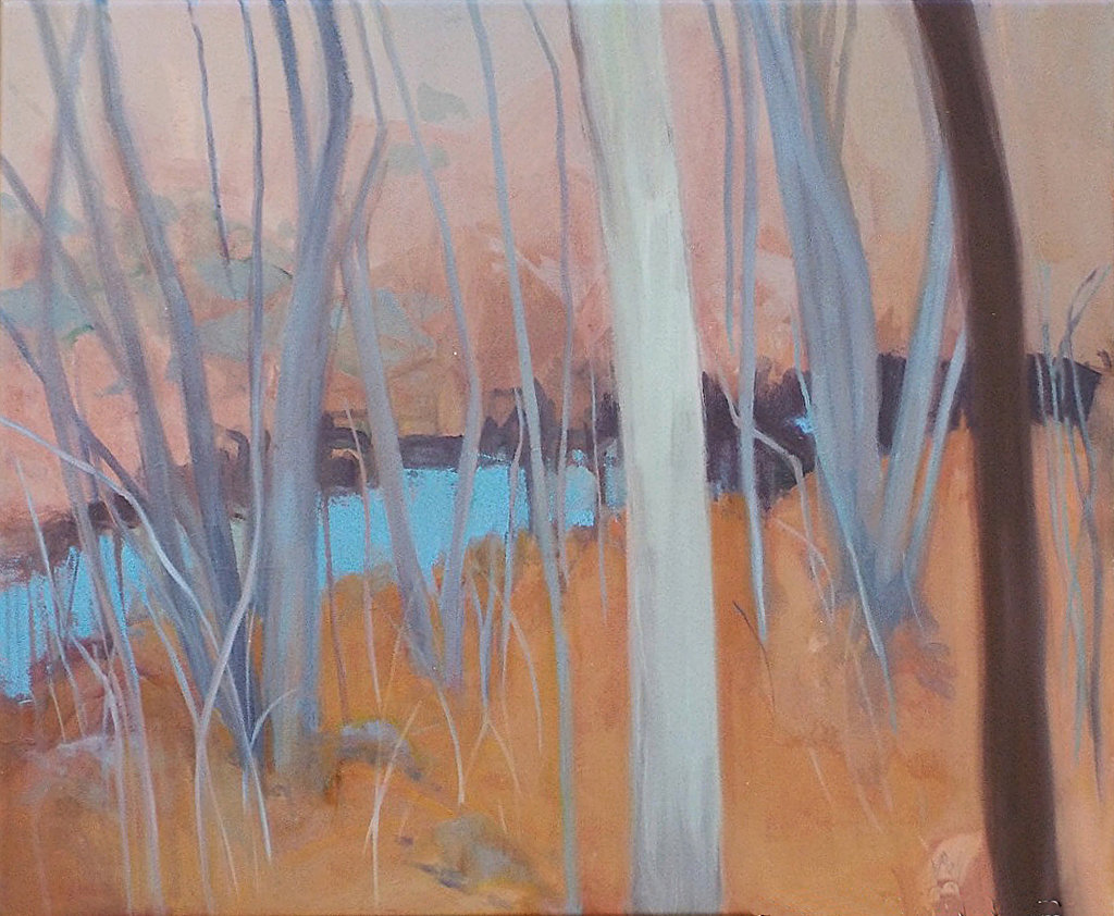 Marjorie Ball, Woodland Brook, oil