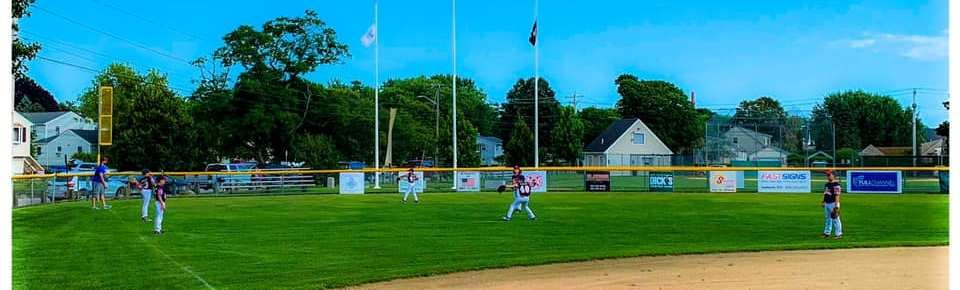 Rumford Little League during game at Bristol