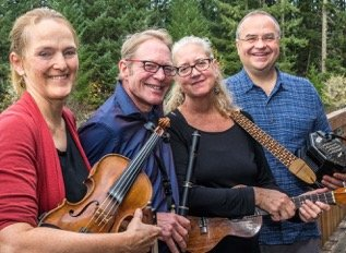 Wild Asparagus returns to the Rehoboth contra dance on Friday, September 13