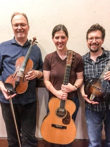 Stomp Rocket performs at the Rehoboth contra dance on Friday, November 8