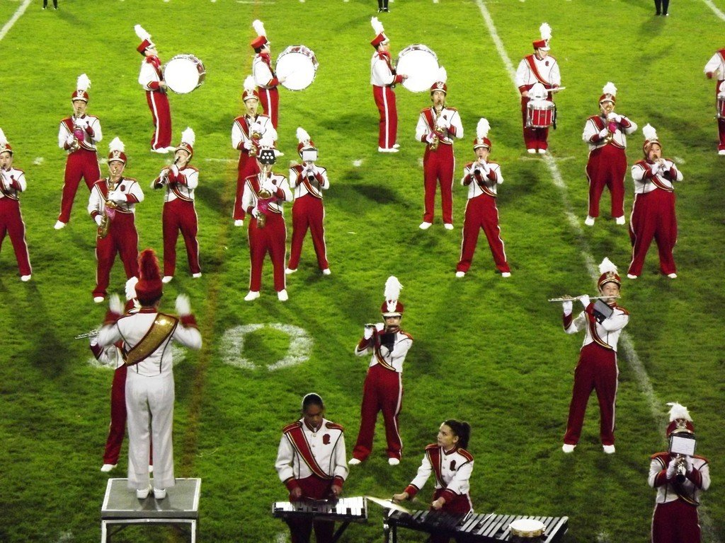Townie bands have played a big role in Thanksgiving Day games.