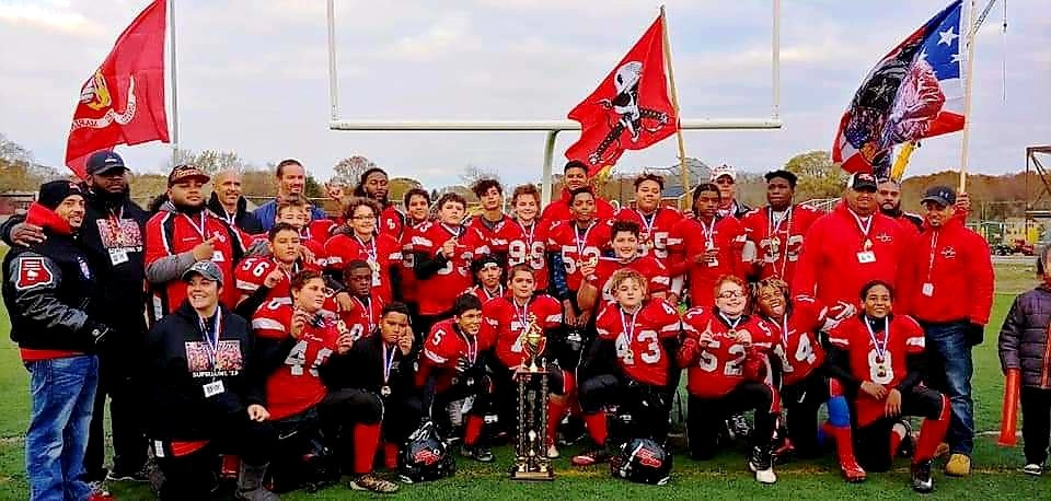 Youth Football 2019 12U Conference Champions.