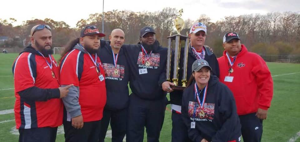 EP Junior Townies officials after winning championship