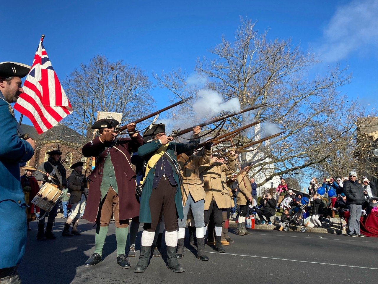 Rehoboth Minutemen at Plymouth MA