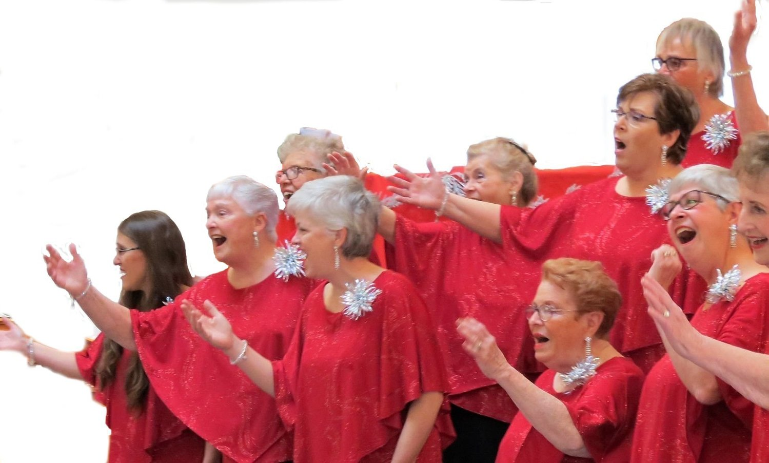 Harmony Heritage women's a cappella chorus holds open rehearsals on Tuesday nights at 7:15 PM at St. Paul's Episcopal Church in Pawtucket.