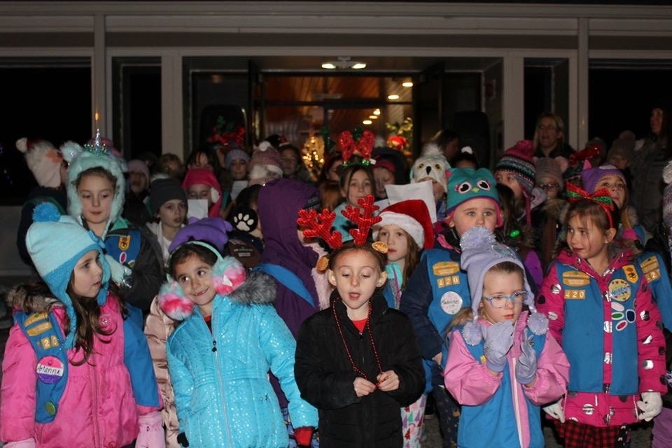 On December 5, 2019, the Seekonk Girl Scout Daisies' Troop attended and participated in the Seekonk Tree Lighting along with other Girl Scouts in attendance.