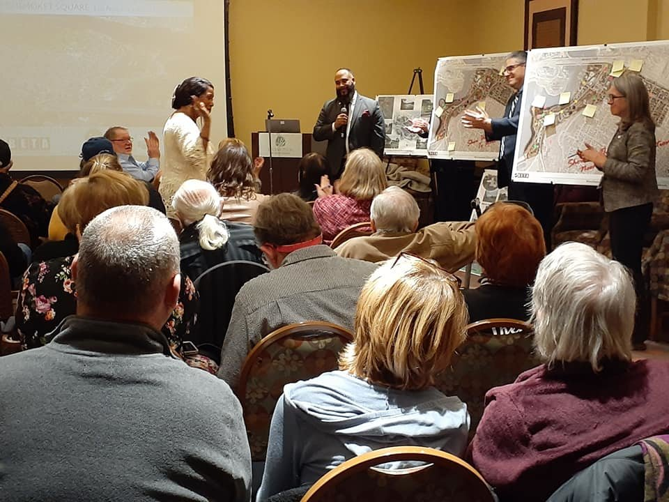 Many residents attended a public meeting on January 15th to discuss the EP Waterfront and Watchemoket revitalization plan.