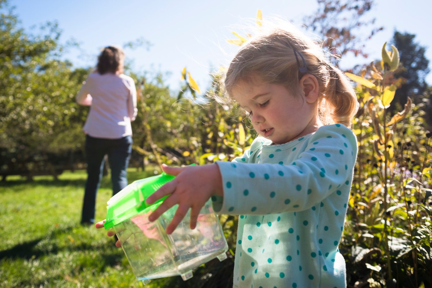 Nature Tots and Li'l Peeps,  nature classes for young children