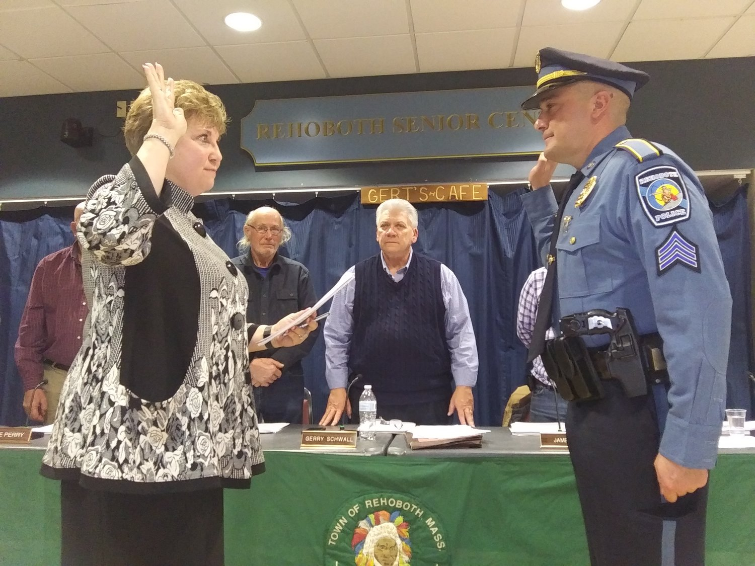 Ferreira Promoted to Sergeant