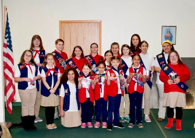American Heritage Girls troop MA3712 Court of Awards