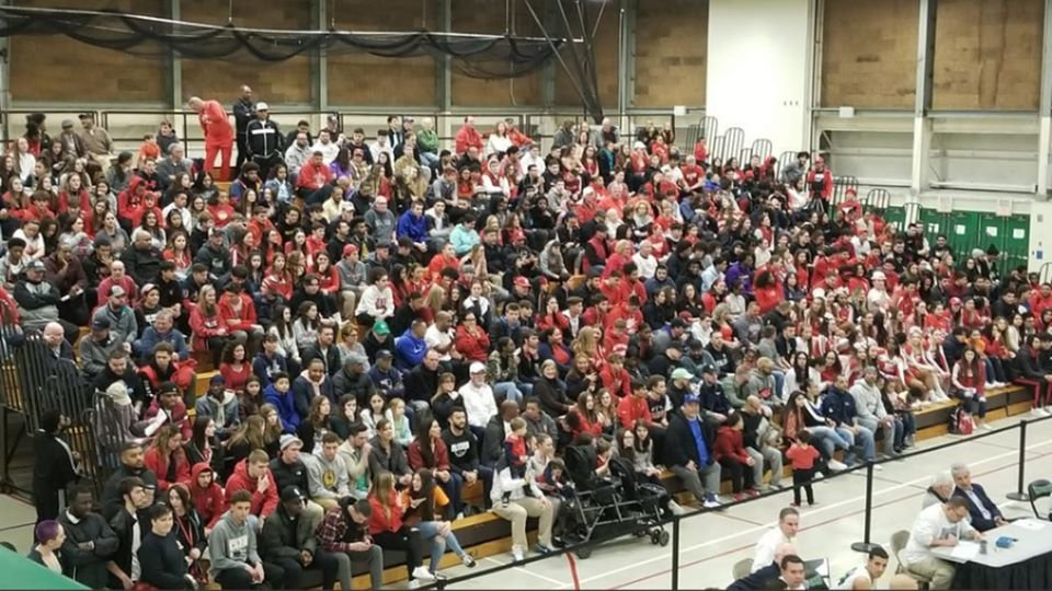 Many EP fans were out in force at CCRI last week to see the Townies-Hendricken game.  They may be disappointed for future playoff games.