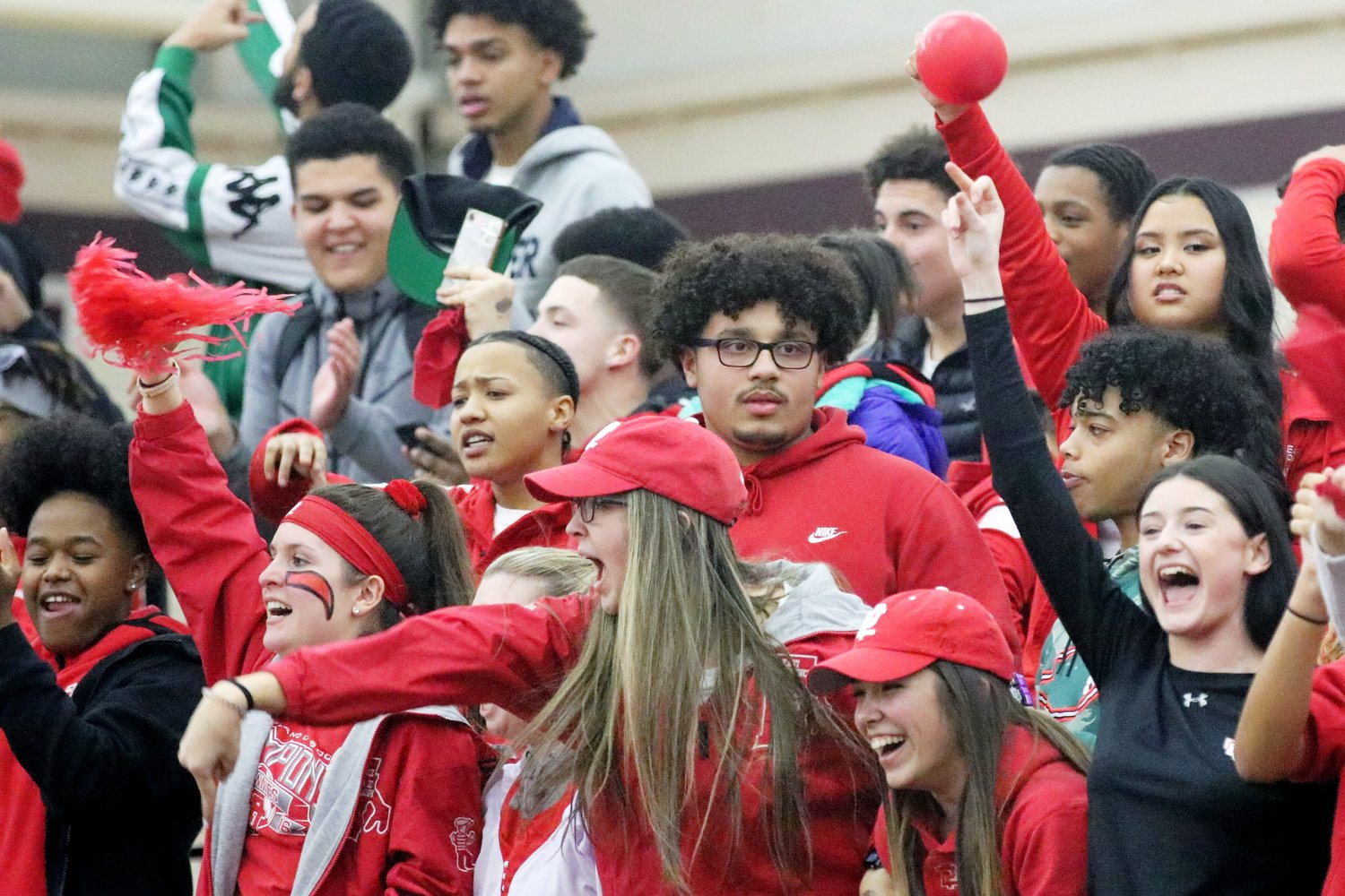 A strong showing from Townie Nation in win over rival LaSalle
