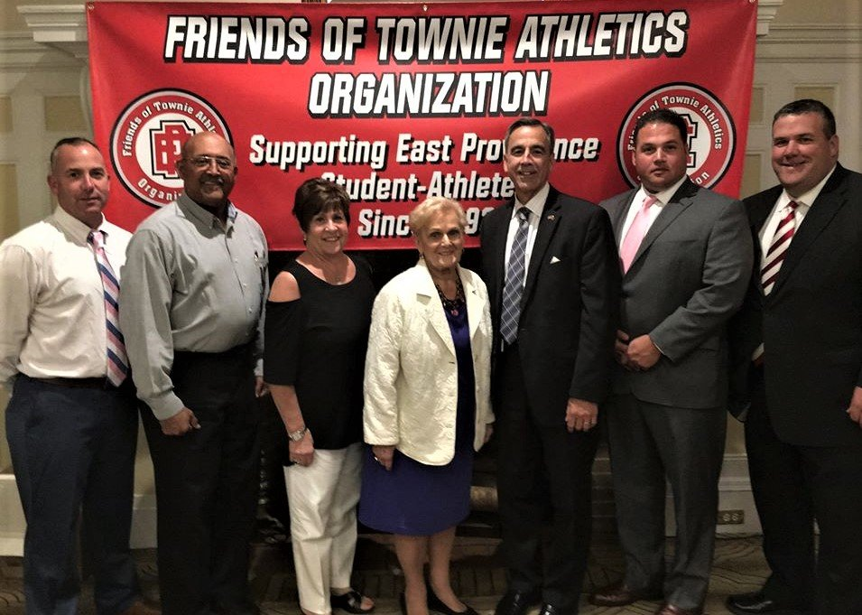 FOTA Board: L-R Rob Traverse, Clarence M. Butler Jr. (President), Stephanie A. Vinhateiro, Mille S. Morris, Gregory S. Dias, Nicholas Shattuck and Gregg Amore